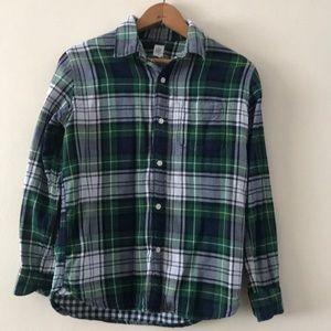 Gap Kids Boys Button Down Shirt Size XL(12)